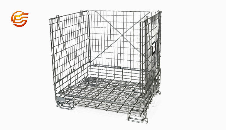 Steel Wire Container